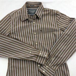 Men's Abercrombie muscle dress shirt size Med EUC